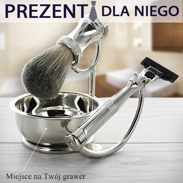 Szykowny męski zestaw do golenia, to idealna i elegancka forma prezentu dla Twojego mężczyzny lub przyjaciela!  http://bit.ly/1KfzhpR