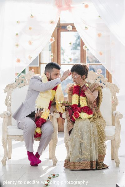 London, UK Indian Wedding by Plenty To Declare Wedding Photography via Maharani Weddings