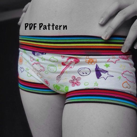 This is a PDF pattern only, not the actual underwear.    Sewing underwear has never been easier! With the guidance of this pattern, you can sew a