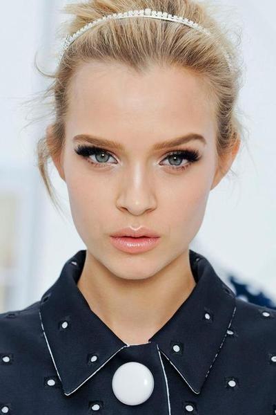 pat mcgrath makeup..love the simple hair too