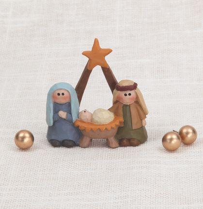 Nativity Holy Family with Star