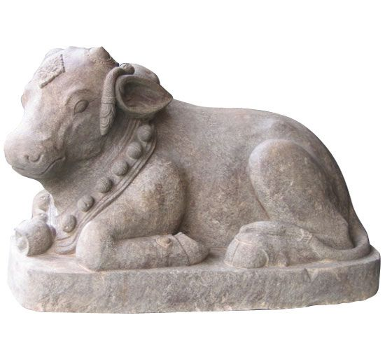 Stone carving, Nandini    www.kulukgallery.com