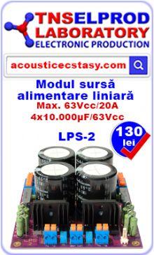 AE7294 este un modul de amplificator audio de putere în clasa AB. Circuitul integrat TDA7294 este un amplificator audio de putere monolitic de înaltă performanţă al carui etaj final este construit în tehnologia DMOS.
