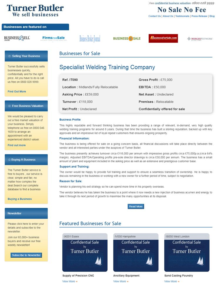 Are you searching to buy welding training businesses for sale from turner butler  This highly reputable and forward thinking business has been providing a range of relevant, in-demand, very high quality welding training programs for around 8 years.  #turnerbutler #businessesforsale #buyingabusiness #UKbusinesstransferagents #welding #Midlands #Relocatable #wesellbusiness #sellingyourbusiness #freebusinessvaluation