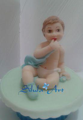 Silula Art: Cake Topper per il Battesimo del piccolo Kristian