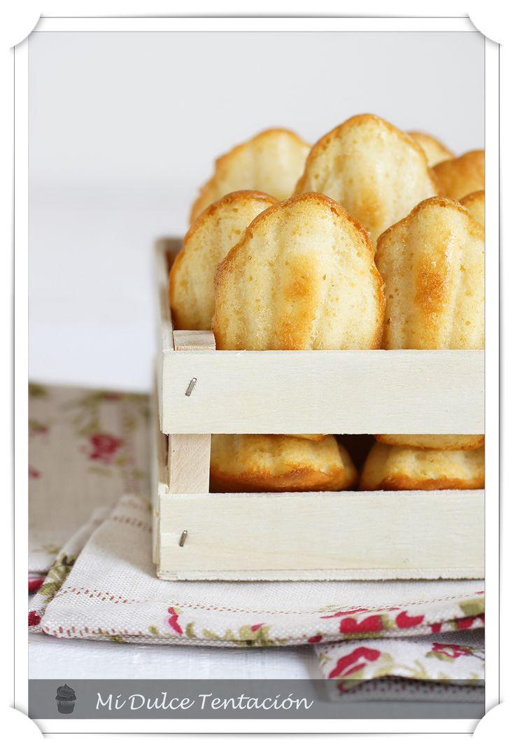 Mi dulce tentación: Madeleienes de Agua de Azahar