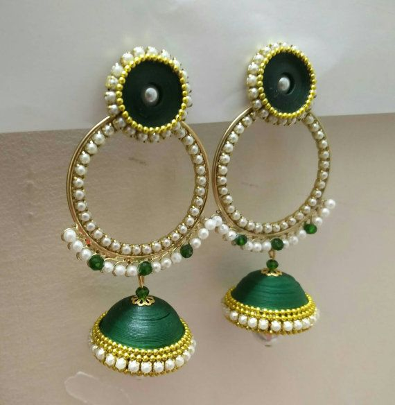Check out this item in my Etsy shop https://www.etsy.com/listing/279227516/combo-of-green-coloured-stud-and-heavy