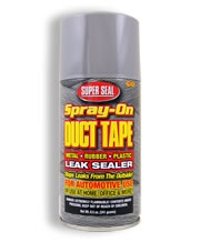 Super Seal Quot Spray On Quot Duct Tape Duct Tape Tape Tools