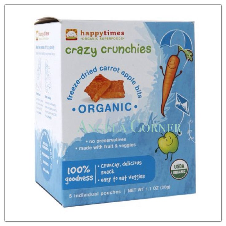 Happy Times Organic Superfoods - Crazy Crunchies 1.1oz (30gr)