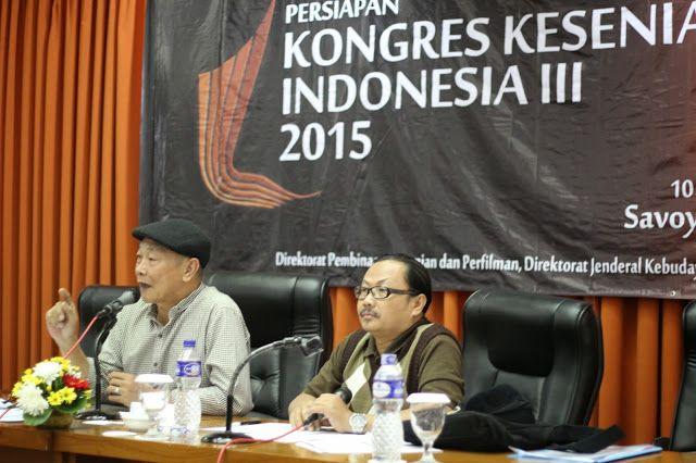 MANTAGI BARU: Rumusan dan Rekomendasi Kongres Kesenian Indonesia...