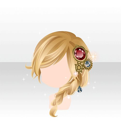 19 Best Images About Side Braid Hairstyle On Pinterest Shops Chibi And Short Blonde