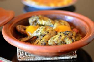 Classic Moroccan Chicken Tagine with Nigella Seeds and Preserved Lemon: Moroccan Chicken Tagine with Nigella Seeds
