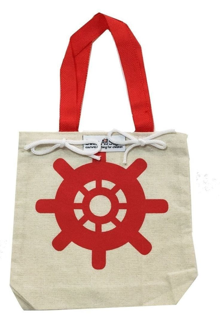 SASsy Tees Nautical Canvas Bags