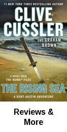 """""""Rising Sea"""" by Clive Cussler and Graham Brown"""