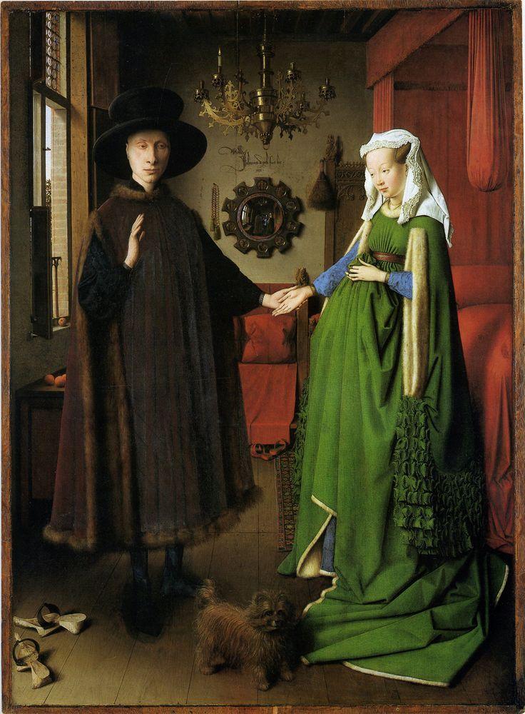Jan van Eyck, Arnolfini Wedding Portrait, 1434