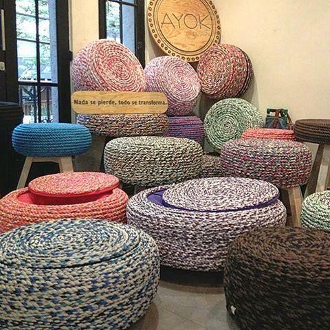 Les presentamos nuestra colección de diseños de muebles!! Somos #ayokdesign, no se pierdan nuestros #modelos en sus únicos #diseños.  #llanta #cuerda #colores #muebles #Ayok #diseñomexicano #mueblesmexico  #diseño #art #instamex  Para más información búscanos en Facebook https://www.facebook.com/ayokdesign o en nuestra página http://ayokdesign.com