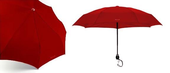 DAVEK-Traveler Umbrella Classic Red