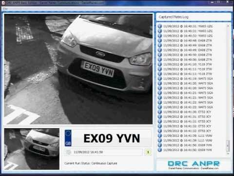 DRC ANPR - Automatic Number Plate Recognition