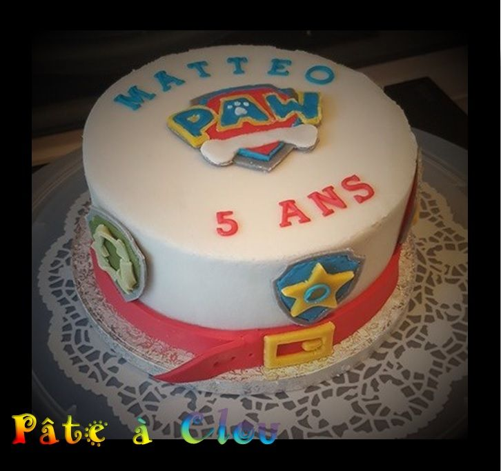 Fabuleux 25+ unique gâteau Pat' Patrouille ideas on Pinterest | Paw patrol  CF72