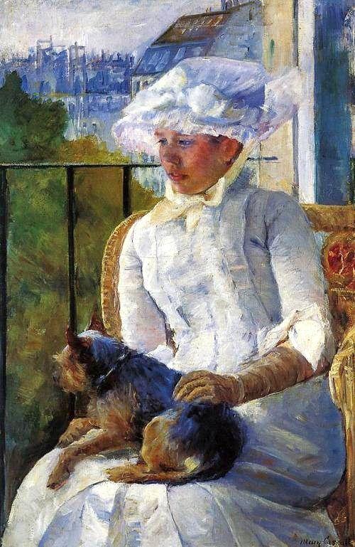 Mary Cassatt (1844-1926) Young Girl at a Window 1883