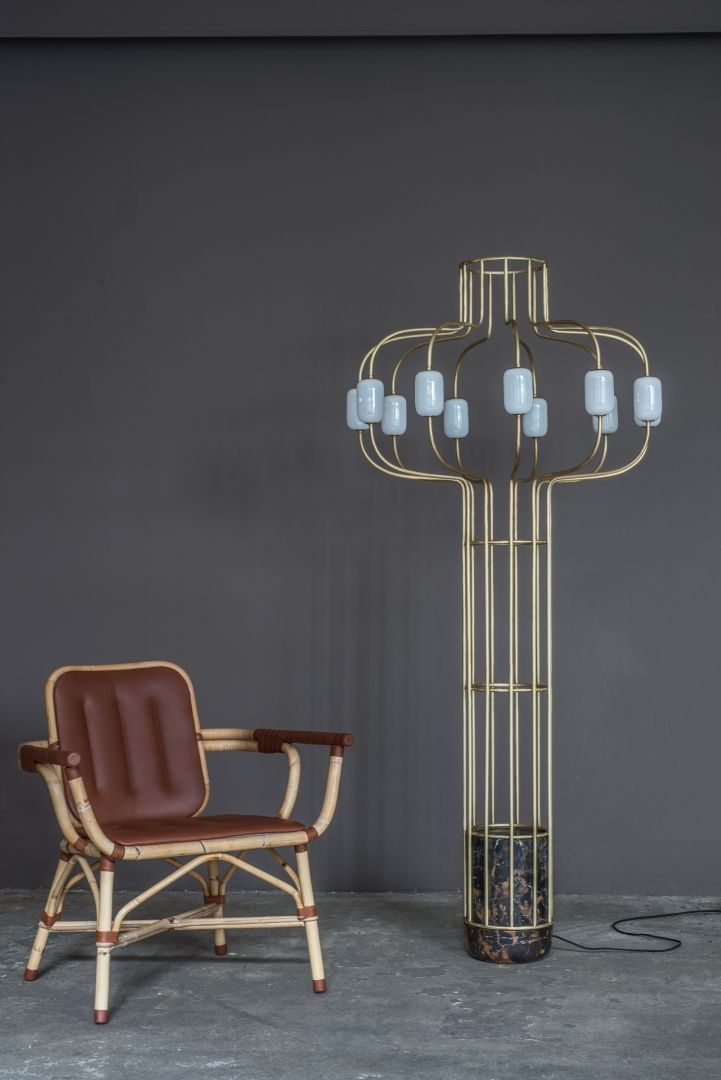 'CHANDELIER' Floor lamp