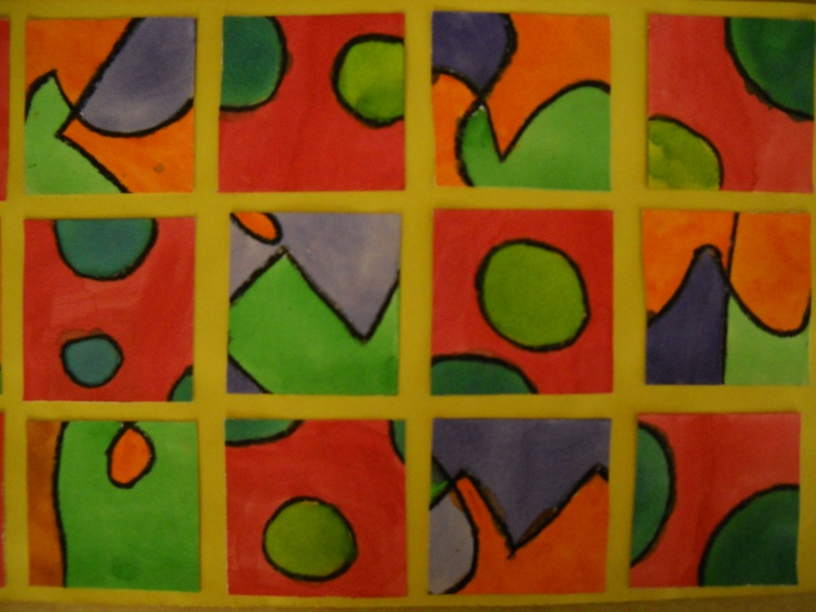 Split Complement And Triadic Color Scheme Tiles Easy To Isolate Each By Doing