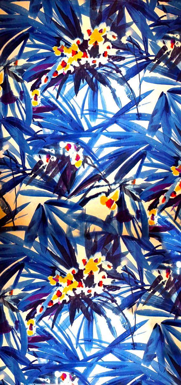 Pattern #paterne #bleu #blue