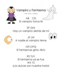 Poema de Halloween - Vampiro y Fantasma.  En español.