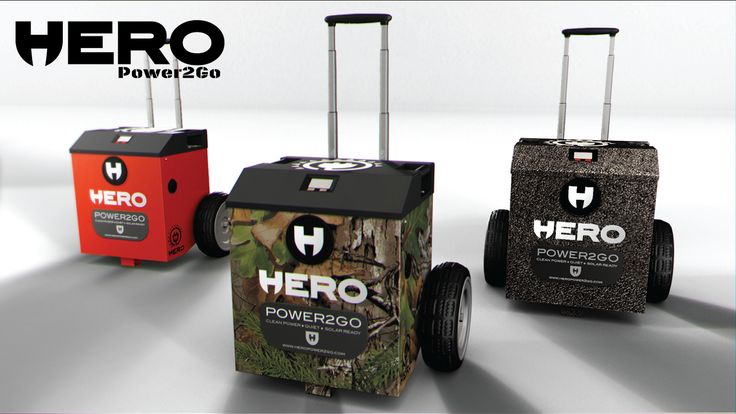 The Power2Go is a battery powered mobile generator delivering 1800 watts of silent power when and where you need it.