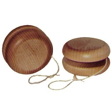 Wooden Yo-Yo Toy - we loved these! could do several tricks, too