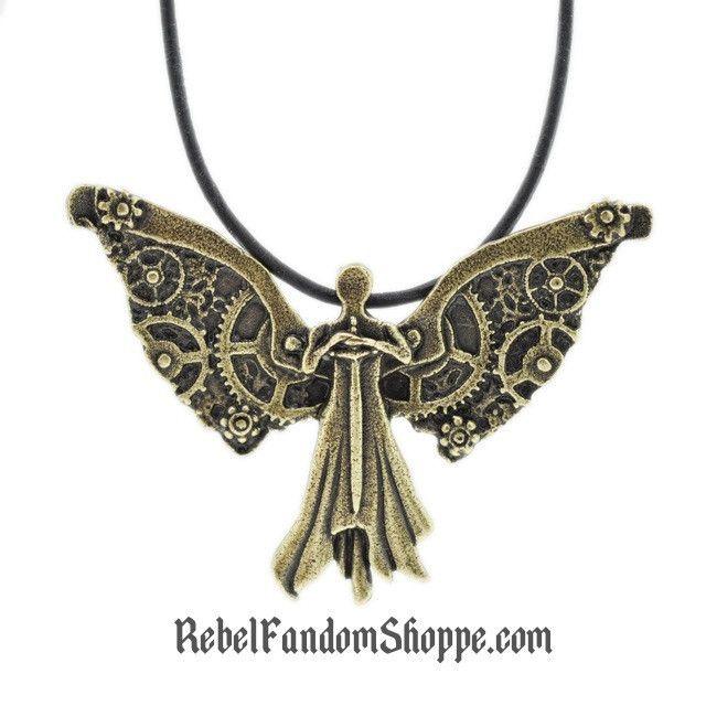 Clockwork Angel Pendant Metal: Alloy