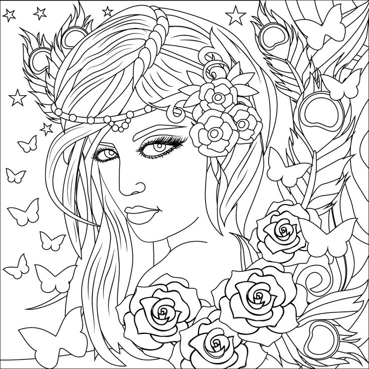 Focus on coloring to get worries out of focus. Download