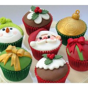 Christmas Cupcakes -Which one's your fave?