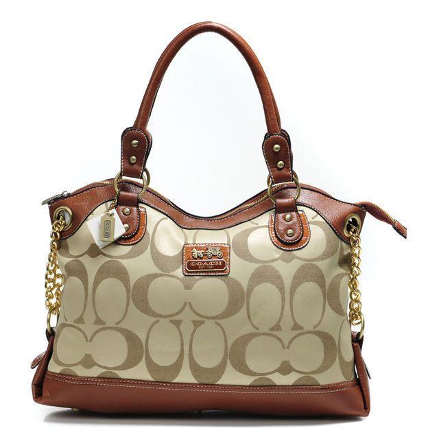 coach legacy pinnacle lowell in signature large khaki satchels adw rh pinterest com
