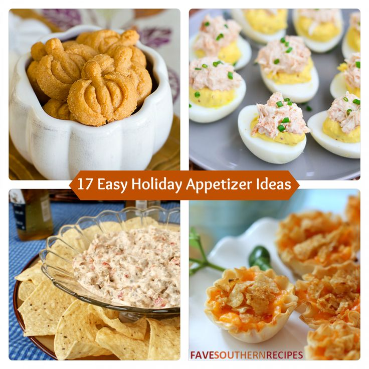 This collection of 17 Easy Holiday Appetizer is sure to get your through your holiday social gatherings.