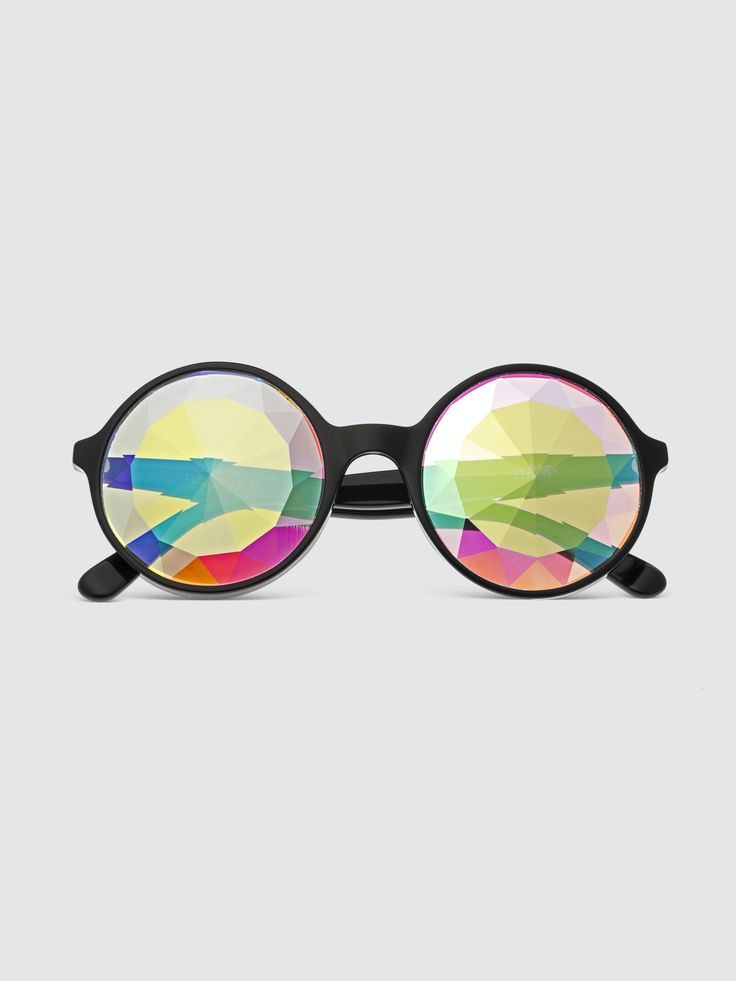 Manifest the festival from the comfort of your backyard with these iridescent statement shades from Sixty One. Their kaleidoscopic lenses are bound to brighten your perspective. Round Sunglasses, Mirrored Sunglasses, Iridescent, Perspective, Lenses, Backyard, Shades, Products, Patio