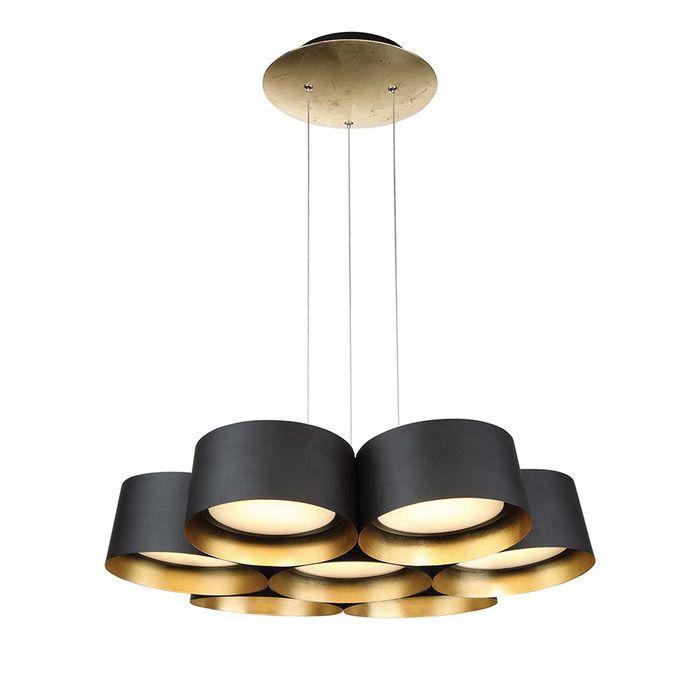 Marimba 7-Light LED Drum Pendant In 2019