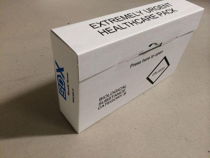 De medisch verpakking voor biologische stoffen 6.2 UN3373 van SDX
