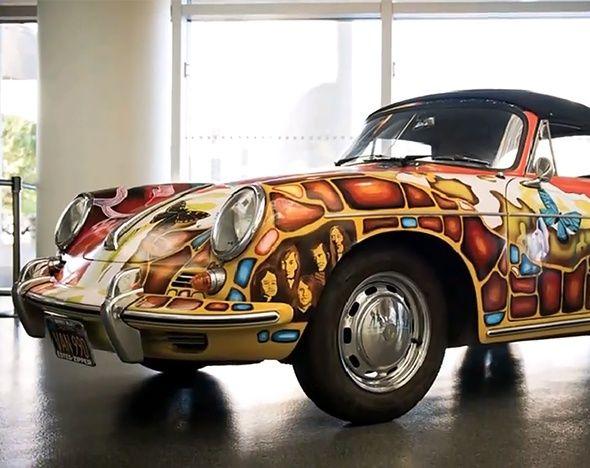 Porsche Дженис Джоплин продан с аукциона за $1,76 млн | Чёрт побери