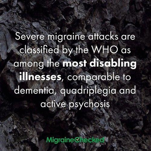 Severe migraine attacks... Chronic MIgraines http://MigrEase.com