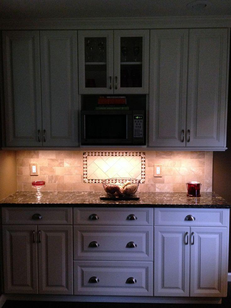 White Millbrook Kitchen With Laneshaw Quartz Countertops (2 Of 10)