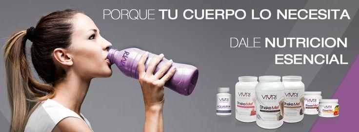 Porque tu cuerpo lo necesita Dale Nutrición Esencial. #Reto #VIVRI #SNE #nutreTuCuerpo #dieta #saludable