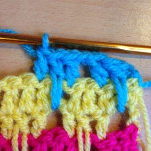 Make the Larksfoot Crochet Pattern Stitch Step-by-Step!