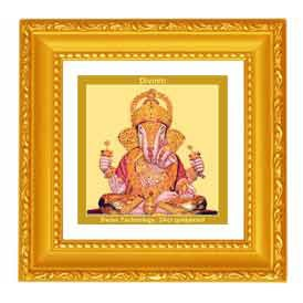 Lord Ganesha double glass frames