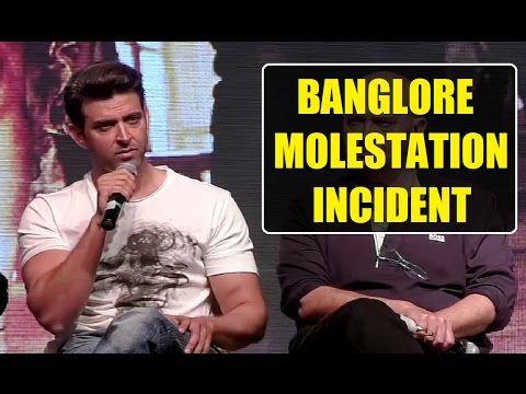 Hrithik Roshan's BEST reaction on Bangalore Molestation Incident.
