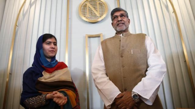 Malala Yousafzai accepts Nobel peace prize with attack on arms spending | World news | The Guardian