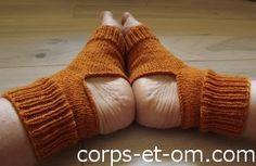 corps et om: le tuto des chaussettes de yoga