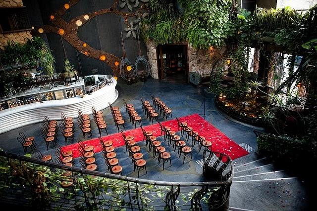 Manda & Dave's afternoon wedding in a nightclub