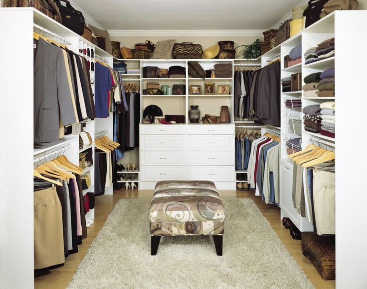 Cool Walk In Closet Design With Space : Amazing Modern Walk In Closet Design  White Wardrobe