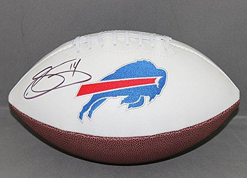 Sammy Watkins Signed Buffalo Bills Signed Football  JSA Certified  NFL Football Autographs -- Want to know more, click on the image. (This is an affiliate link and I receive a commission for the sales)